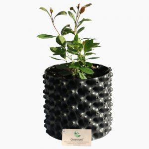 greenroot planter 20 20 black new