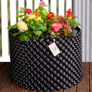 plant pot 98 Ltr Black