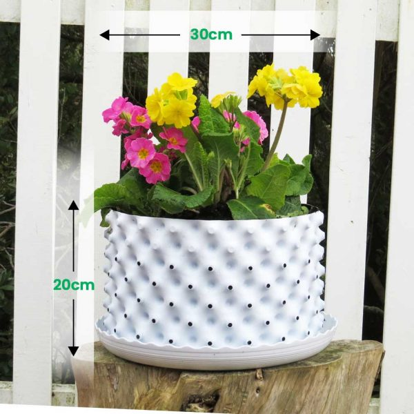 greenroot planters30 20 white size